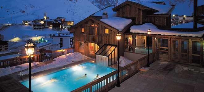 Wintersport vakantiehuis met sauna